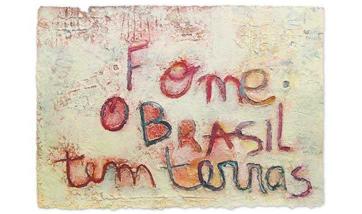 <p>exposição// Designers Contra a Fome |Museu da República | Rio de Janeiro</p> <p>técnica mista sobre papel</p> <p></p>