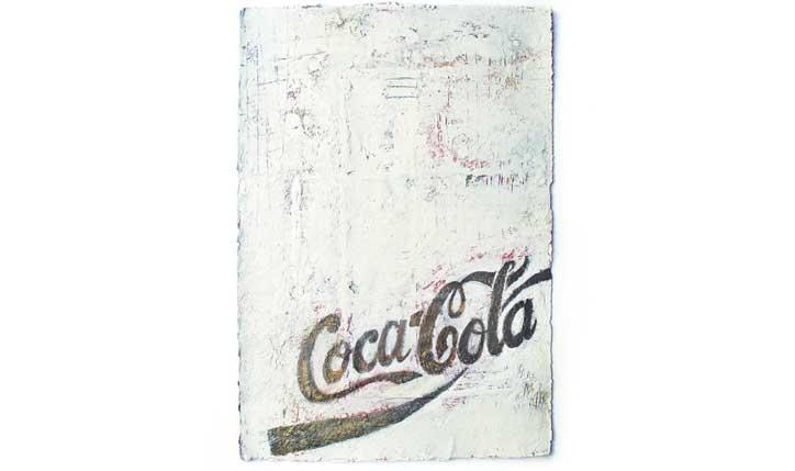 <p>exposição// Coca-Cola com Arte 50 Anos | Museu de Arte Moderna | Rio de Janeiro</p> <p>técnica mista sobre papel</p> <p>curadoria// Jair de Souza</p>