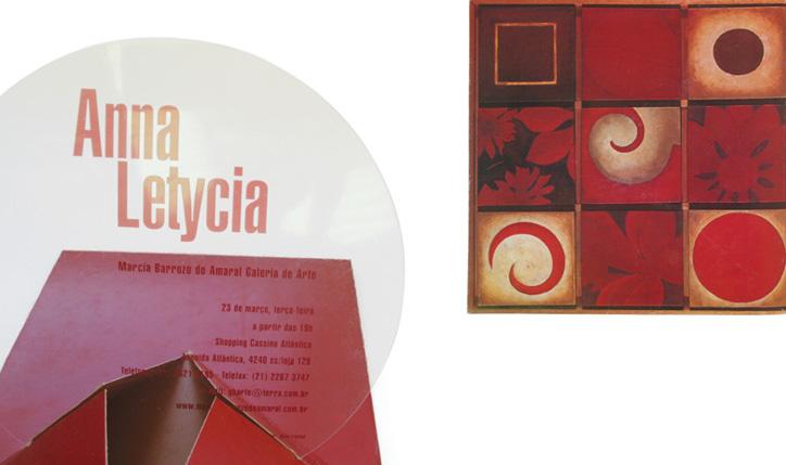 <p>cliente// Marcia Barrozo do Amaral Galeria de Arte<br /><br />designer assistente// Anderson Araujo<br /><br />prêmio// 3º lugar na categoria promocional 4º Prêmio Max Feffer de Design Gráfico<br />convite exposição</p>