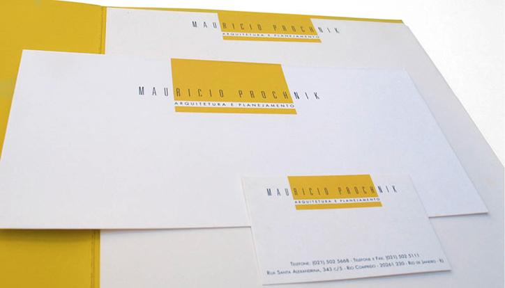<p>cliente// Maurício Prochnik</p> <p>designer// Ruth Freihof</p>