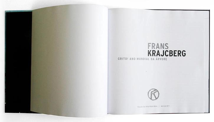 Livro O Grito Frans Krajcberg