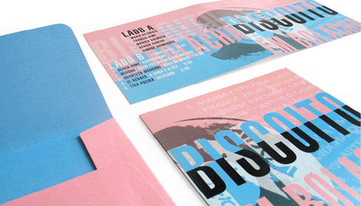 <p>cliente// Biscoito Fino</p> <p>design// Ruth Freihof</p> <p>capa de LP e cartão de Natal. Esse projeto ganhou Prêmio Max Pfeffer 2005.</p>